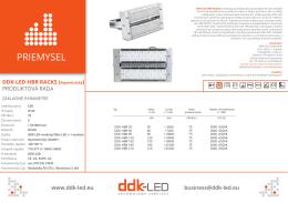 datasheet (pdf) - DDK-LED