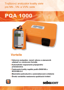 PQA 1000 - SebaKMT