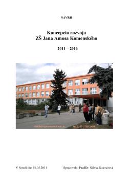 Koncepcia ZŠ J.A.Komenského