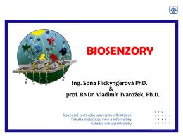 DNA biosenzor - Slovenská technická univerzita v Bratislave