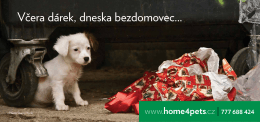 www.home4pets.cz | 777 688 424