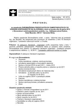 Naša značka: ZZ-13/96 - Združenie zamestnávateľov vo vodnom