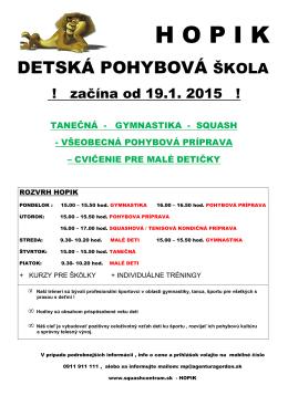 H O P I K - squashcentrum.sk