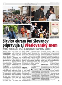 Slavica okrem Dní Slovanov pripravuje aj