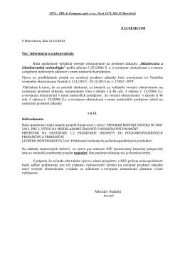 ďalej - Vita - zel & company