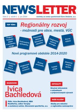 Newsletter - EuroDotácie číslo 02, jún 2014