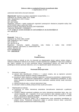 201122 - Agentúra na podporu regionálneho rozvoja Košice, no