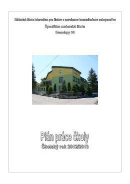 Untitled - Škola Základná škola internátna pre žiakov s narušenou
