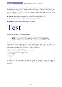 Tvorba webových stránok Spoznávame jazyk XHTML 1.1