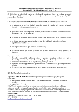 Centrum pedagogicko-psychologického poradenstva a