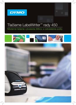 Tlačiarne LabelWriter™ rady 450