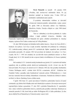 Pavol Pukančík sa narodil 20. januára 1920 v