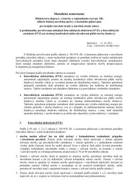 Návrh úpravy usmernenia - Ministerstvo dopravy, výstavby a