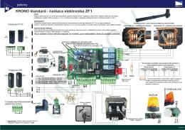riadiaca elektronika ZF1