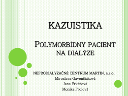 Polymorbídny pacient