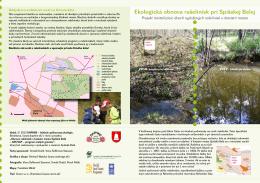 Ekologická obnova rašelinísk pri Spišskej Belej