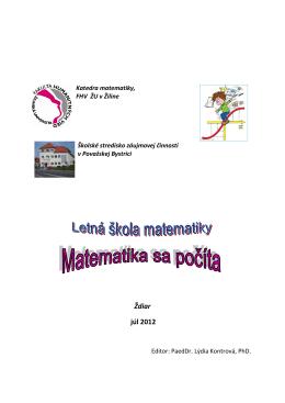 Letná škola matematiky