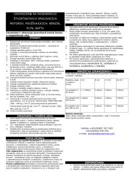 stiahnite si inštrukcie ceramizer do motorov vo formáte pdf