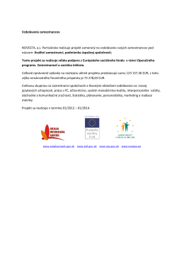 Projekt ESF