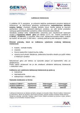 Laktózová intolerancia (.pdf)