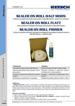 SEALER ON ROLL HALF MOON SEALER ON ROLL