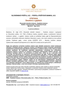 Tlačovej správe k výstave v PDF