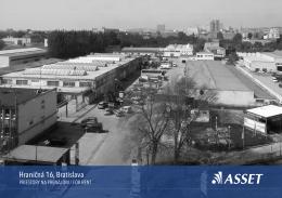 Hraničná 16, Bratislava