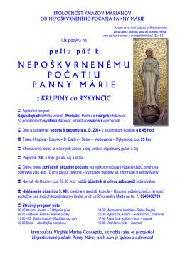 SpoloĊnosť kňazov mariánov