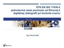 STN EN ISO 17636-2 jednoduchá cesta prechodu od