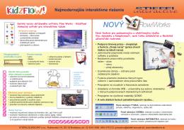 Interaktívny softvér FLOW! - Najmodernejšie interaktívne riešenia