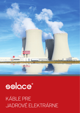 Kabely LOCA - Výroba pre jadrový priemysel - Katalóg