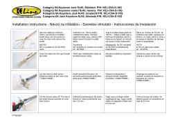 Installation instructions - Návod na inštaláciu - Szerelési