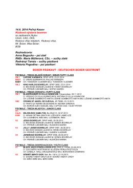výsledky pdf / results