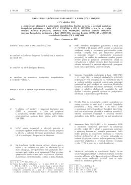 č. 1169/2011 - SOS spotrebitelov