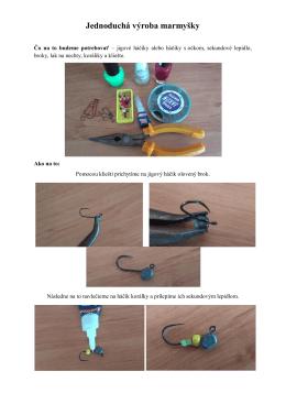 Jednoduchá výroba marmyšky