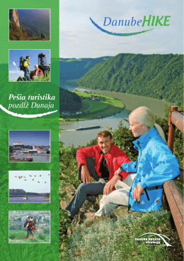 Pešia turistika pozdĺž Dunaja