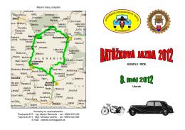 Batôžková jazda - propozície 2012