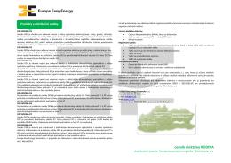 Stiahnuť cenník - Europe Easy Energy Slovensko as
