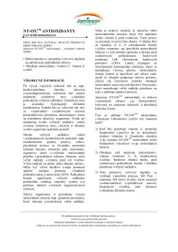 NT-OXTM ANTIOXIDANTY