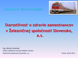Železničná spoločnosť Slovensko, as