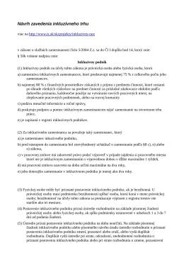 konkrétny návrh legislatívnych zmien