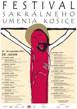 Festival sakrálneho umenia 2013