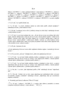 Čl. V Zákon č. 222/2004 Z. z. o dani z pridanej hodnoty v