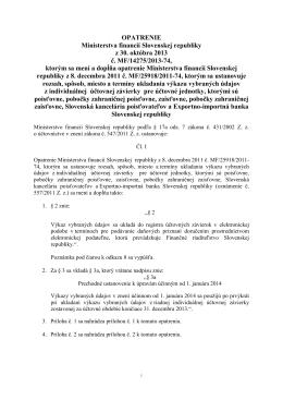 Finančný spravodajca 11/2013