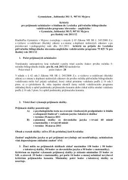 kriteria - bilingvalne-oprava