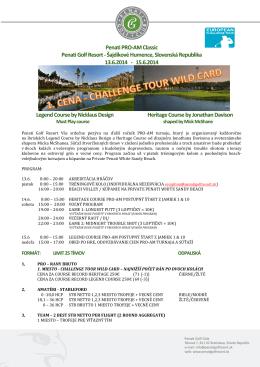 Penati PRO-AM Classic Penati Golf Resort