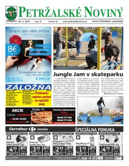 Rovniankova 4 - Petržalské Noviny