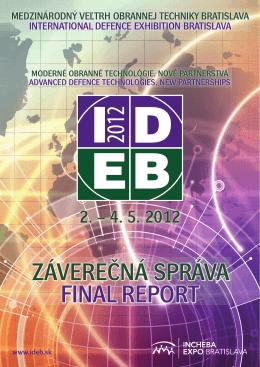 Záverečná správa 2012