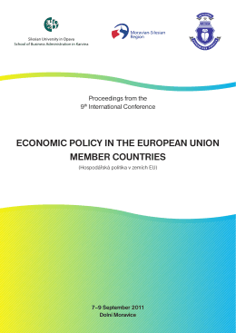 economic policy in the european union member countries