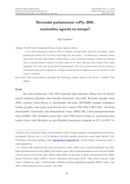 - Středoevropské politické studie